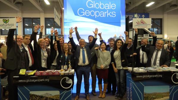 ITB Berlin 2018, le premier salon mondial du tourisme avec des équipes provenant des UNESCO Géoparcs du monde entier