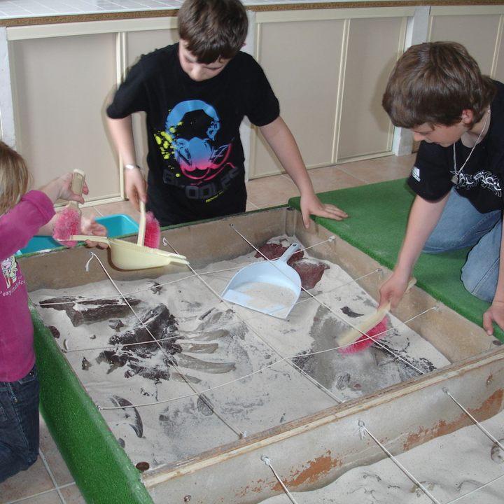 Au Musée Promenade, l'anniversaire des petits fouilleurs !