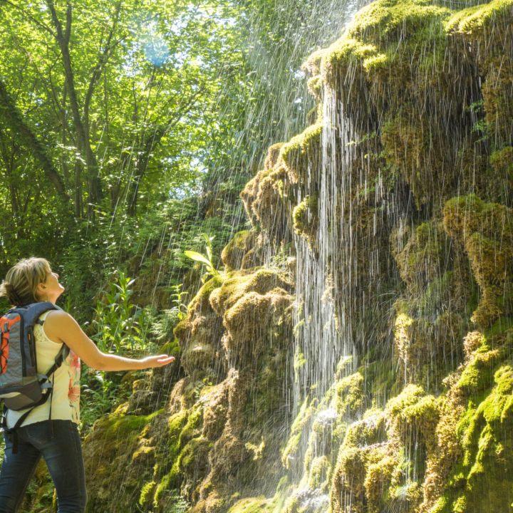 Découverte de la Grande Cascade du Musée Promenade à Digne-les-Bains