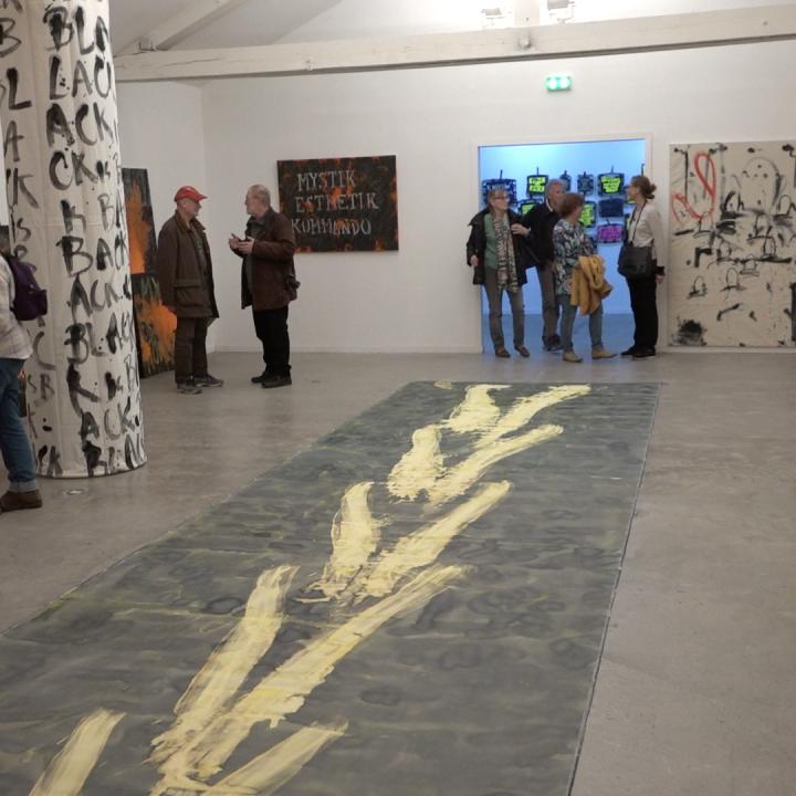 Exposition de Georges Autard au Cairn centre d'art